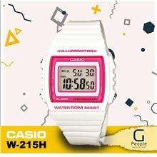 CASIO W-215H-7A2V STANDARD DIGITAL WATCH ☑ORIGINAL☑