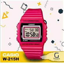 CASIO W-215H-4AV STANDARD DIGITAL WATCH ☑ORIGINAL☑