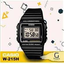 CASIO W-215H-1AV STANDARD DIGITAL WATCH ☑ORIGINAL☑