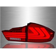 HONDA CITY GM6 2014 - 2017 Lexus-Style Light Bar Tail Light [TL-250]