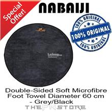 NABAIJI Double-Sided Soft Microfibre Foot Towel Diameter 60 cm