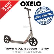 OXELO Town 5 XL Scooter - Grey