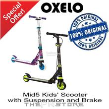 OXELO Mid 5 Kids' Scooter with Brake