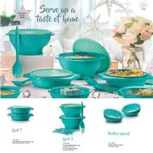 Tupperware Joy Keeper Round Server and Bowls - Limited Edition