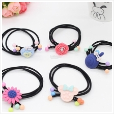 2pcs Candy-Color Hair Rope Hair Tie