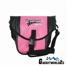 Hypergear Gadget Pouch Poche Sling Bag Dry Bag - Pink