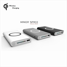 Qi 3 in 1 Wireless  & Wired (Type-C Micro USB) Charging 10000mAh Power