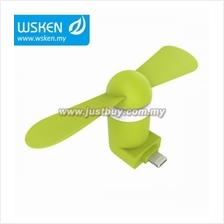 WSKEN Portable Mini Fan (Micro USB / Lightning / Type-C)