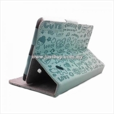 Acer Iconia B1-A71 Cute Pattern Skin Leather Case - Light Blue