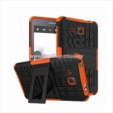 Samsung Galaxy Tab A 7.0 Dual Armor Composite Stand Case - Red