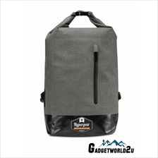 Hypergear Back Pack Dry Pac Quest Dry Bag - Snow Grey