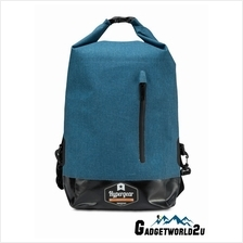Hypergear Back Pack Dry Pac Quest Dry Bag - Snow Blue