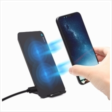 Baseus Fast Qi Wireless Charger Pad Stand for iPhone X iPhone 8 iPhone