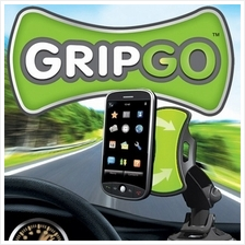 NEW: GripGO Holds Your Iphone,Nokia,Samsung,Galaxy,Tablet, Note GPS
