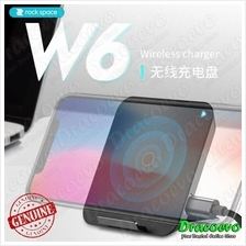 Rock Space W6 Mini Wireless Charging Pad Charger iPhone 8 X Samsung No
