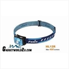 Fenix HL12R Rechargeable 400L Headlamp - Blue