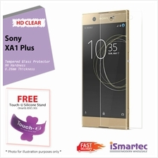 Sony Xperia XA1 Plus Tempered Glass Protector 0.26mm + 9H Hardness (HD..