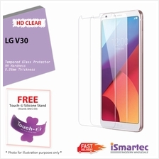 LG V30 Tempered Glass Protector 0.26mm + 9H Hardness (HD Clear)