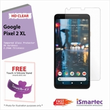 Google Pixel 2 XL Tempered Glass Protector 0.26mm + 9H Hardness (HD