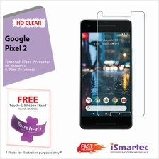 Google Pixel 2 Tempered Glass Protector 0.26mm + 9H Hardness (HD Clear