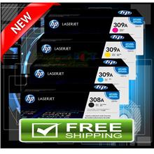 ORIGINAL HP 309A / Q2671A B/C/Y/M '4 Colors 1 Prices' (FREE SHIPPING)