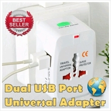 UNIVERSAL ALL IN ONE WORLD TRAVEL ADAPTER CHARGER PLUG