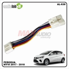 PERODUA MYVI 2017 Bypass Video In Motion TV Free Cable Socket [AL-636]