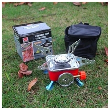 Mini Portable Camping Stove Outdoor Cooker Gas Stove Hiking Camp
