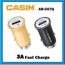 CASIM 5V/3A Fast Charge USB Car Charger Adapter AR-C07Q