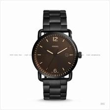 FOSSIL FS5277 Men's The Commuter 3-hand Date SS Bracelet Black