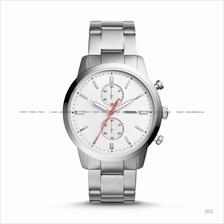 FOSSIL FS5346 Men's Townsman Chronograph SS Bracelet White