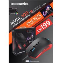 Steelseries Rival 100 Dota 2 Gaming Mouse with Slark Pale Edge