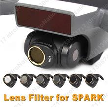 DJI Spark Camera Lens Filters UV CPL ND4 ND8 ND16 ND32 3PC 6PC SET