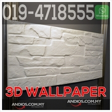 3D Wallpaper Brick Foam DIY Home Decor Self Adhesive Dinding Bata