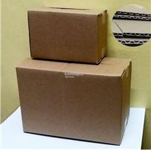 Courier Boxes 210x110x140mm, 3 ply corrugated box X10pcs