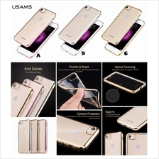 iPhone 7 8 Plus USAMS Kim TPU Full Electroplating Clear Case Cover