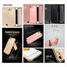 iPhone 7 8 Plus USAMS Dazzle TPU Electroplating Clear Case Cover
