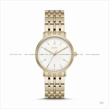 DKNY NY2503 Women's Minetta 3-hand SS Bracelet Gold