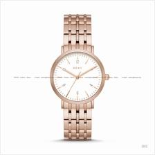 DKNY NY2504 Women's Minetta 3-hand SS Bracelet Rose Gold