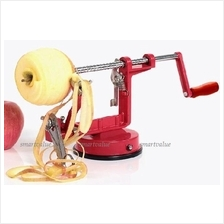 Stainless Steel Apple/ Potato Peeler/ Corer / Slicer 3in1 with Suction