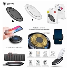 Baseus Qi Wireless Charger Super Thin Slim Fast Charging Pad