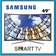 SAMSUNG 49' Inch UA-49M6300 Full HD Curved LED Smart TV