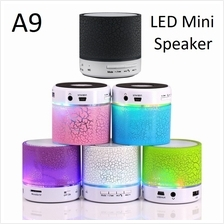 A9 Mini LED Handsfree Subwoofer Wireless Bluetooth Audio Player Speake