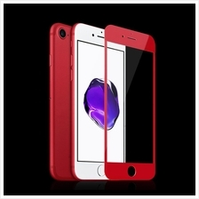 iPhone 6/6S/7/7Plus Screen Protector Full 9H Tempered Glass *NEW* Red