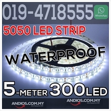 12V DC SMD 5050 LED Strip Light 5Meter 300 LED Waterproof DIY