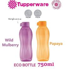 Tupperware Eco Bottle 750ml - 2 PCS (Mix and Match Colors)
