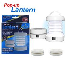 4 Units Pop Up Lantern Cree LED for Festivals, Outdoors, Camping Light