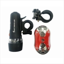 Bicycle LED Head Light/Safety Light/Back Light With Holder/Bracket