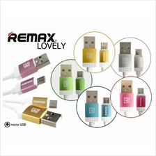 REMAX Lovely 1M Fast Charging Cable For Android/Iphone