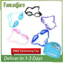 Ready Stock High Quality Children Kidz Swimming Goggles Gift out Cap